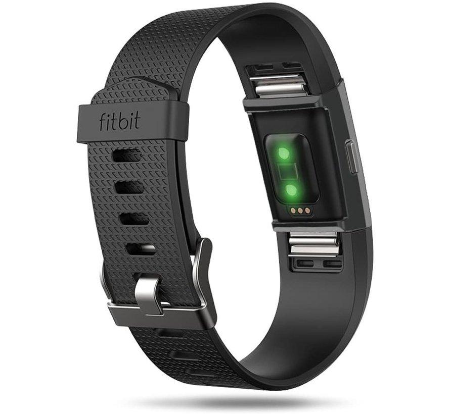 Strap-it® Fitbit Charge 2 TPU case (zwart)
