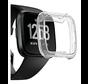 Strap-it® Fitbit Versa TPU case (transparant)