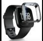 Strap-it® Fitbit Versa TPU case (zwart)