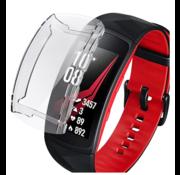 Strap-it® Samsung Gear Fit 2 / Gear Fit 2 Pro TPU case (transparant)