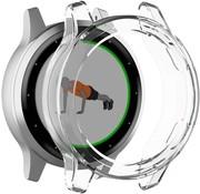 Strap-it® Garmin Vivoactive 4s TPU case (transparant wit)