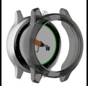 Strap-it® Garmin Vivoactive 4s TPU case (transparant zwart)