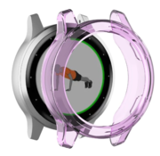 Strap-it® Garmin Vivoactive 4s TPU case (transparant paars)