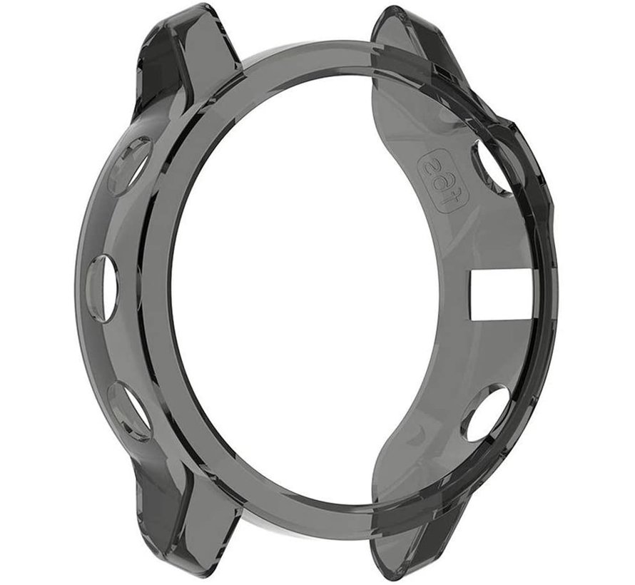 Strap-it® Garmin Fenix 5s TPU case (transparant zwart)
