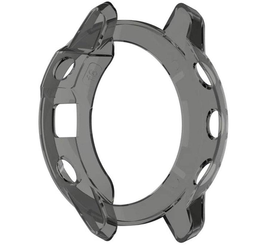 Strap-it® Garmin Fenix 5x TPU case (transparant zwart)
