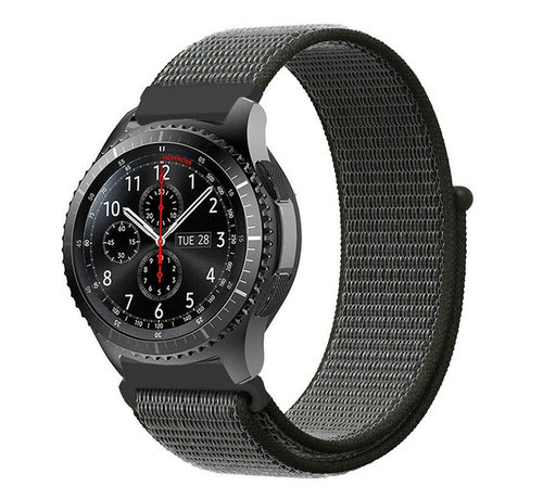 Strap-it® Strap-it® Samsung Galaxy Watch 45mm / 46mm nylon band (groen)
