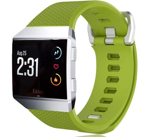 Strap-it® Strap-it® Fitbit Ionic siliconen bandje (lichtgroen)