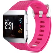 Strap-it® Fitbit Ionic siliconen bandje (knalroze)