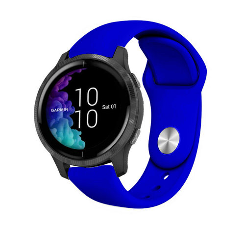 Strap-it® Strap-it® Garmin Venu sport band (blauw)