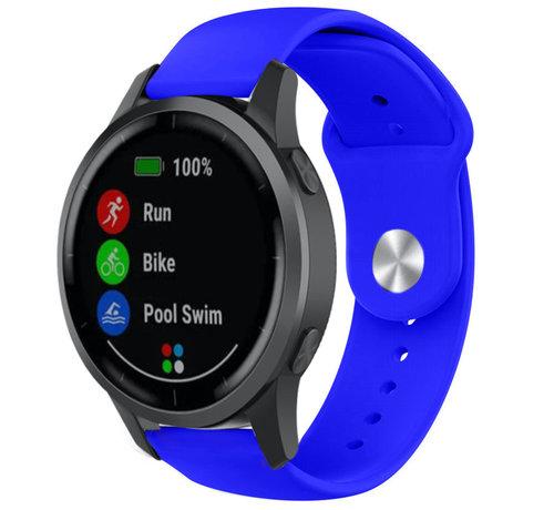 Strap-it® Strap-it® Garmin Vivoactive 4 sport band - 45mm - blauw