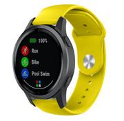 Strap-it® Garmin Vivoactive 4 sport band - 45mm - geel