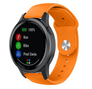 Strap-it® Garmin Vivoactive 4 sport band - 45mm - oranje