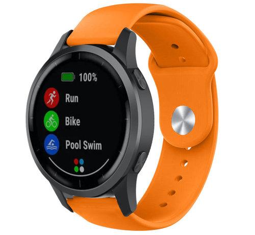 Strap-it® Strap-it® Garmin Vivoactive 4 sport band - 45mm - oranje
