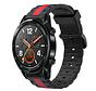 Strap-it® Huawei Watch GT Special Edition band (zwart/rood)