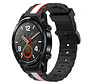 Strap-it® Huawei Watch GT Special Edition band (zwart/wit)