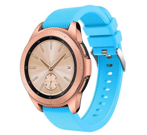 Strap-it® Strap-it® Samsung Galaxy Watch siliconen bandje 41mm / 42mm (lichtblauw)