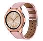 Strap-it® Samsung Galaxy Watch 41mm/42mm bandje leer (roze)