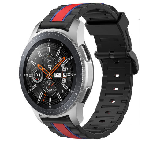 Strap-it® Strap-it® Samsung Galaxy Watch 46mm Special Edition band (zwart/rood)