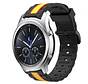Strap-it® Samsung Gear S3 Special Edition band (zwart/geel)