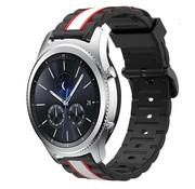 Strap-it® Samsung Gear S3 Special Edition band (zwart/wit)