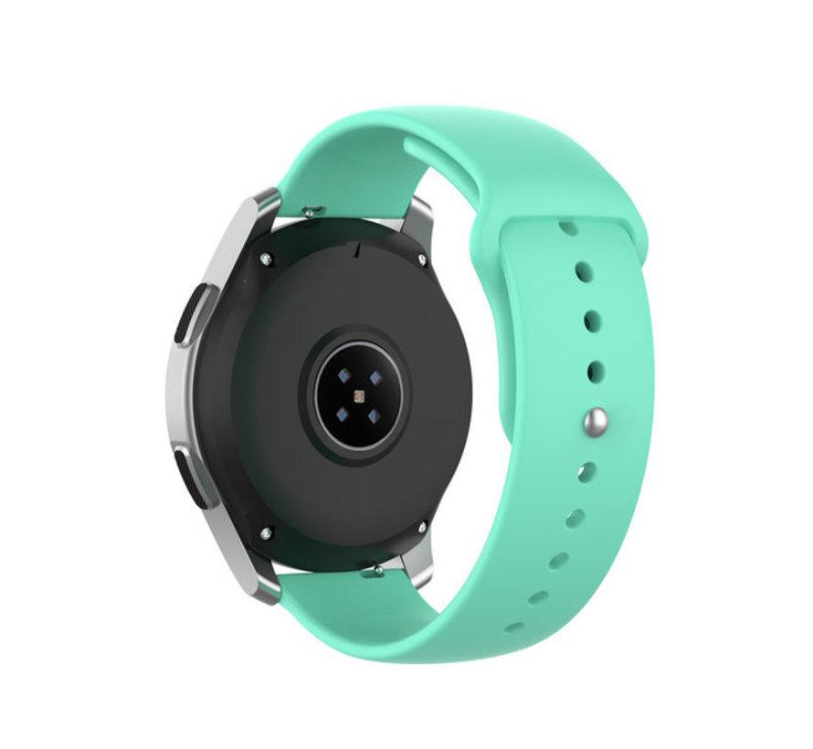 Strap-it® Garmin Vivoactive 4 sport band - 45mm - aqua