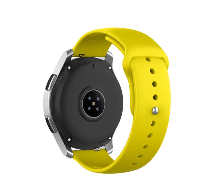 Strap-it® Garmin Venu sport band (geel)