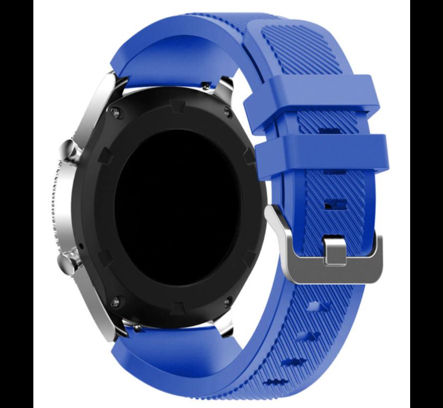 Strap-it® Samsung Galaxy Watch 3 45mm siliconen bandje (blauw)