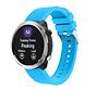 Strap-it® Garmin Vivoactive 4 silicone band - 45mm - lichtblauw