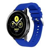 Strap-it® Samsung Galaxy Watch Active silicone band (blauw)