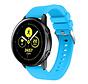 Strap-it® Samsung Galaxy Watch Active silicone band (lichtblauw)