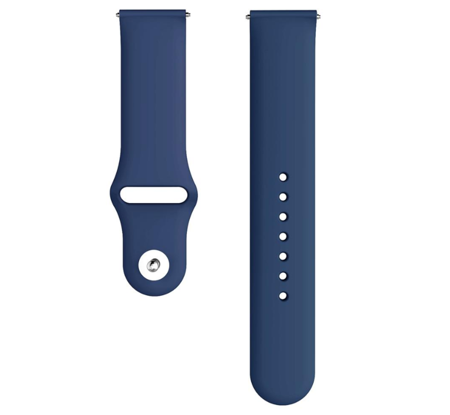 Strap-it® Samsung Galaxy Watch 3 sport bandje 41mm (donkerblauw)