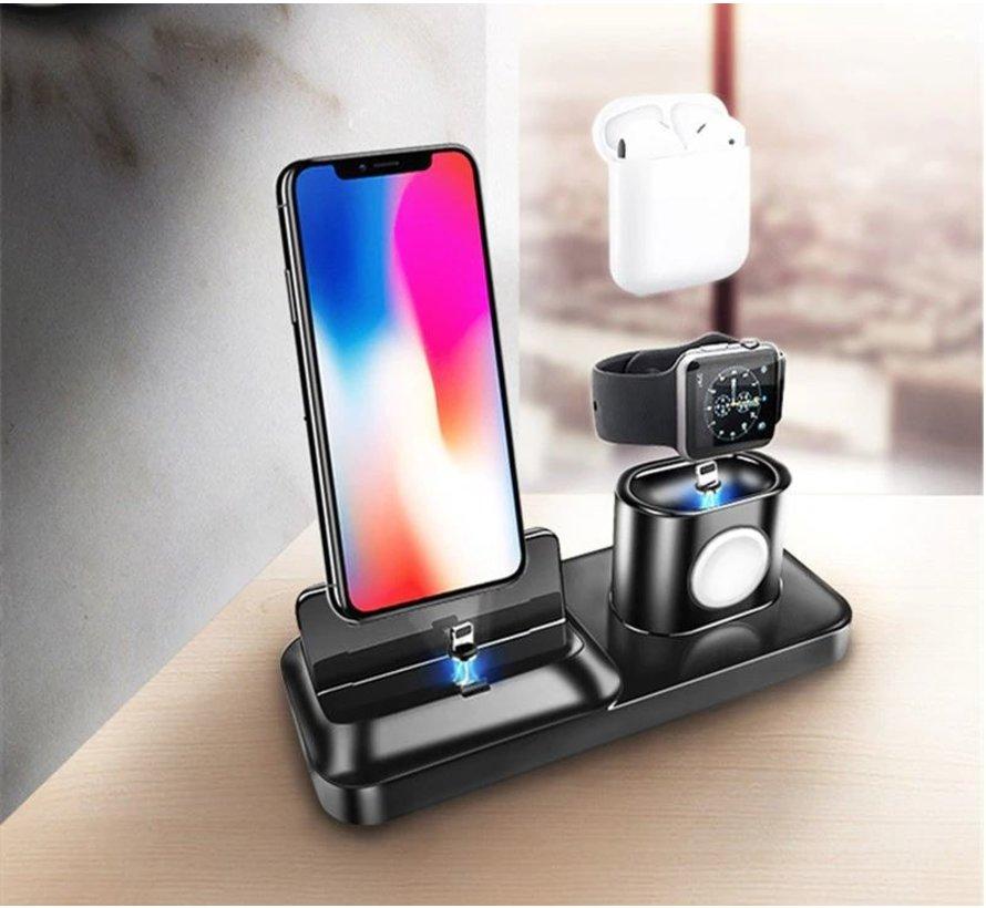 Strap-it® Oplaad dock Apple 3-in-1