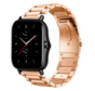 Strap-it® Xiaomi Amazfit GTS 2 / 2e / 2 Mini stalen band - rosé goud - bandbreedte 20mm