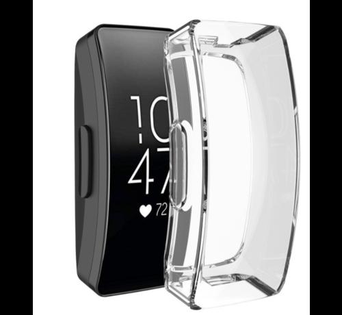Strap-it® Strap-it® Fitbit Inspire / Inspire HR TPU case (transparant)