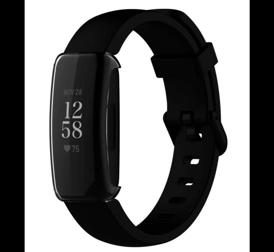 Strap-it® Fitbit Inspire 2 TPU case / screenprotector (transparant)