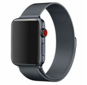 Strap-it® Apple Watch Milanese band (space grey)