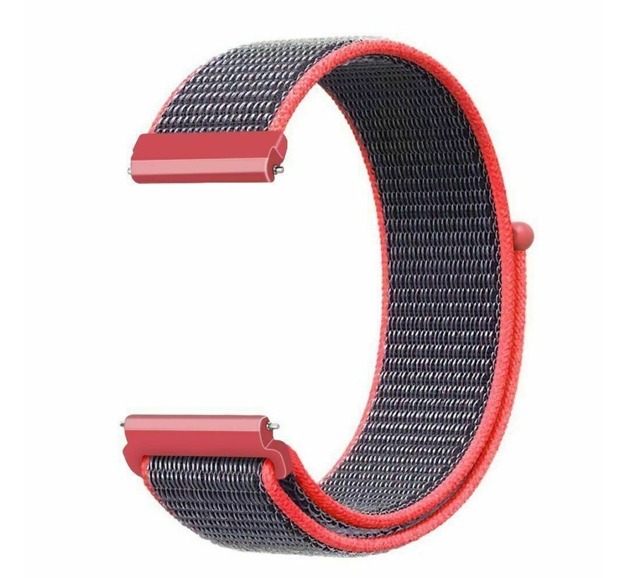 Strap-it® Garmin Vivoactive 4s nylon band - 40mm - bright powder