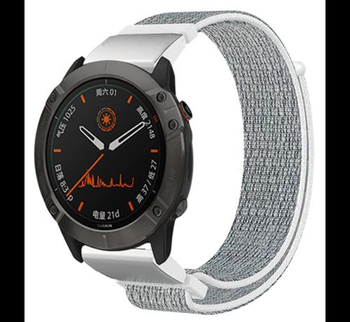 Strap-it® Strap-it® Garmin Fenix 5 / 6 nylon band (zeeschelp)