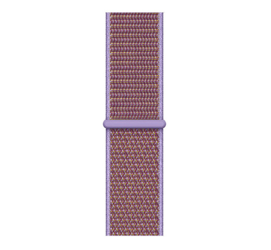 Strap-it® Samsung Galaxy Watch Active nylon band (lila)