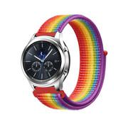 Strap-it® Samsung Gear S3 nylon band (regenboog)