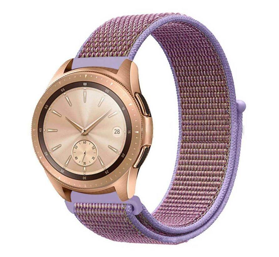 Strap-it® Samsung Galaxy Watch 42mm nylon band (lila)