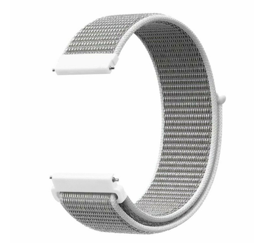 Strap-it® Garmin Vivoactive 4 nylon band - 45mm - zeeschelp