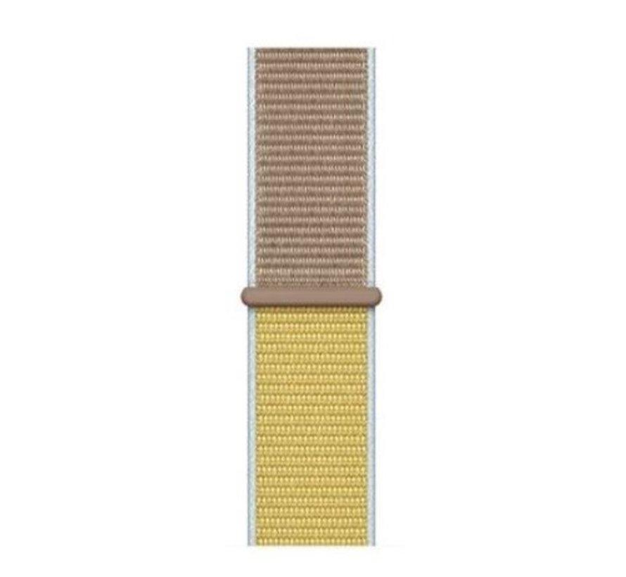 Strap-it® Garmin Vivoactive 3 nylon band (camel)