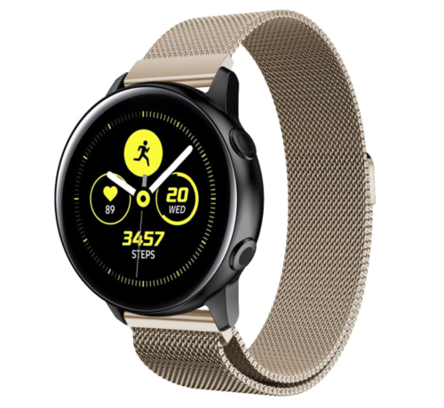 Strap-it® Strap-it® Samsung Galaxy Watch Active Milanese band (champagne)