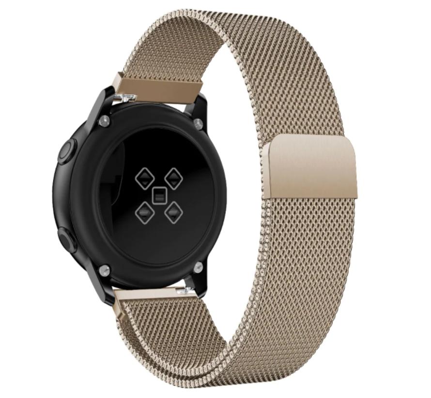 Strap-it® Samsung Galaxy Watch 3 Milanese band 45mm (champagne)