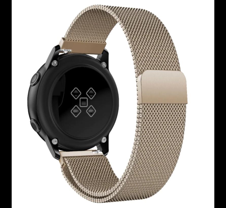 Strap-it® Samsung Galaxy Watch 3 Milanese band 41mm (champagne)