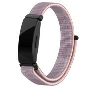 Strap-it® Fitbit Inspire nylon bandje (roze)
