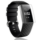 Strap-it® Fitbit Charge 3 screen protector plastic