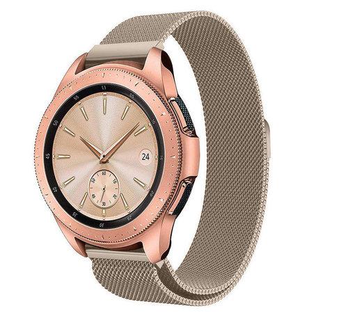 Strap-it® Strap-it® Samsung Galaxy Watch Milanese band 42mm (champagne)