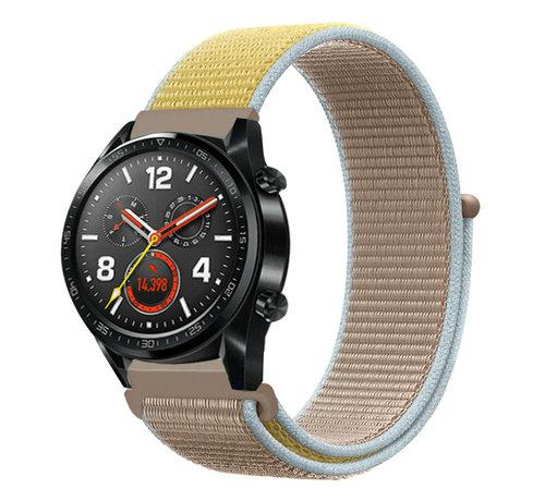 Strap-it® Strap-it® Huawei Watch GT nylon band (camel)
